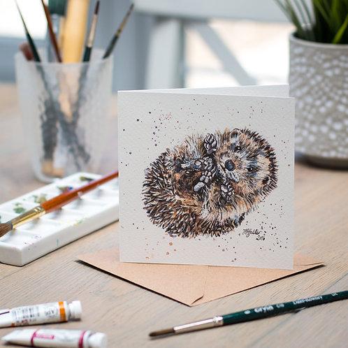 'Prickle' Hedgehog Card