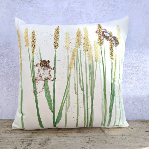 Mice in Wheat Soft Cushion