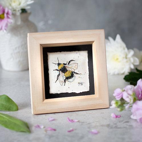 Bumble Bee Mini Box Frame