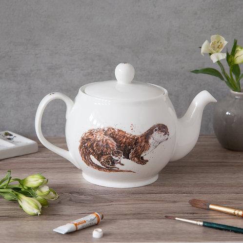 Otter Bone China Teapot