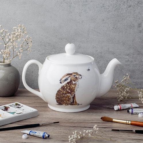 Hilary Hare Bone China Teapot