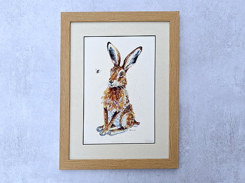 'Loppy and Lou' Hare Limited Edition Giclée Print