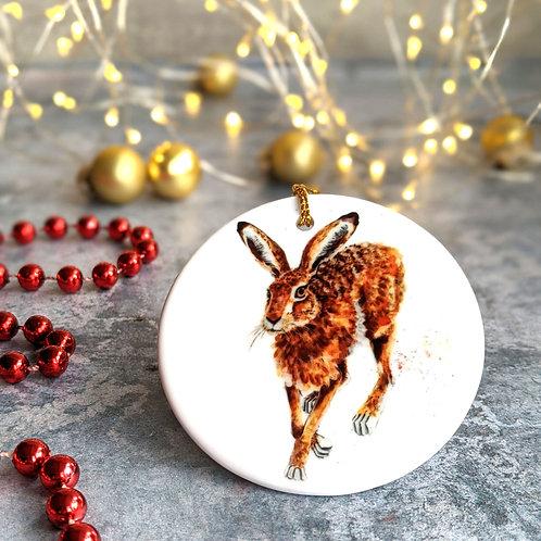 Hare Christmas Decoration