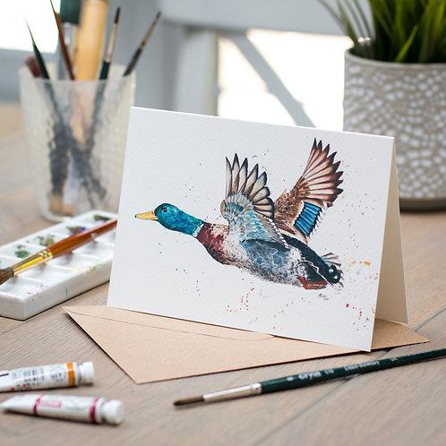 'Martin' Duck Card