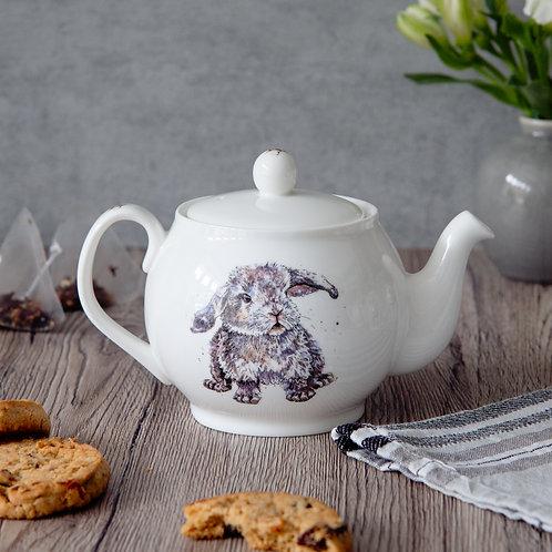 Boris the Bunny Mini Teapot