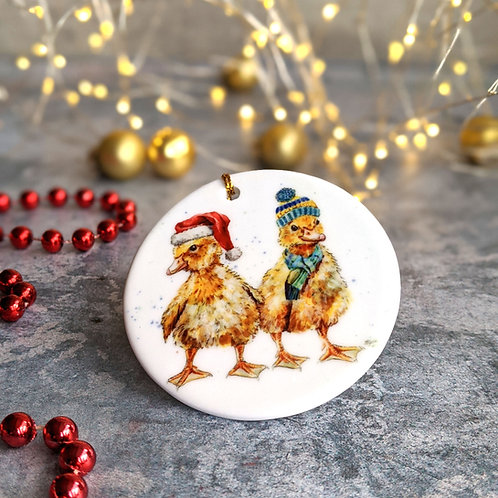 Ducklings Christmas Decoration