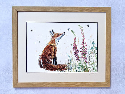 Foxgloves and Foxtales Limited Edition Print