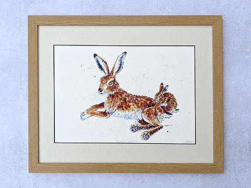 'Penelope and Pipsqueak' Limited Edition Giclée Print