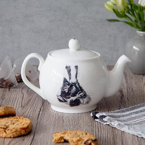 Badger Family Mini Teapot