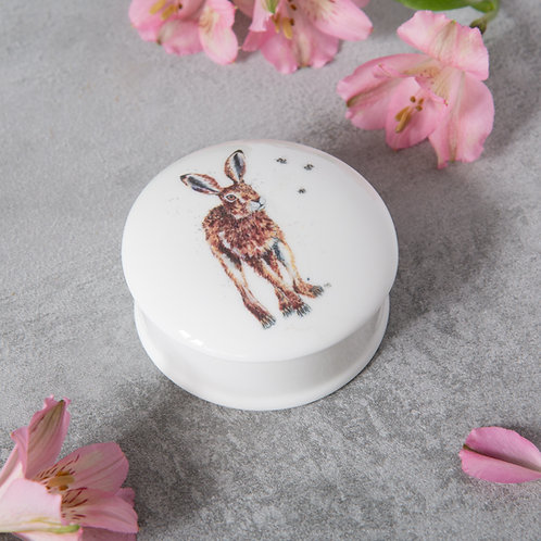 Hare and Bees Trinket Dish