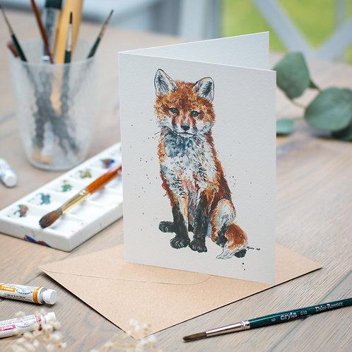 'Ginger' Fox Card