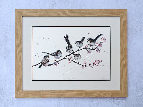 'Telling Long Tails' Limited Edition Giclée Print