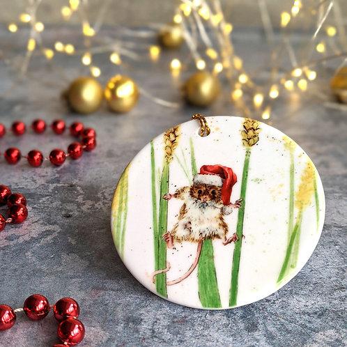 Mouse Christmas Decoration