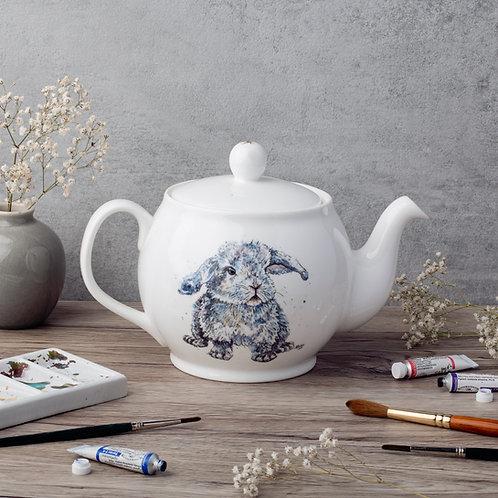 Boris the Bunny Bone China Teapot