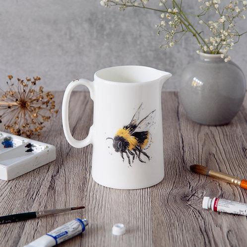 Bumble Bee Milk Jug