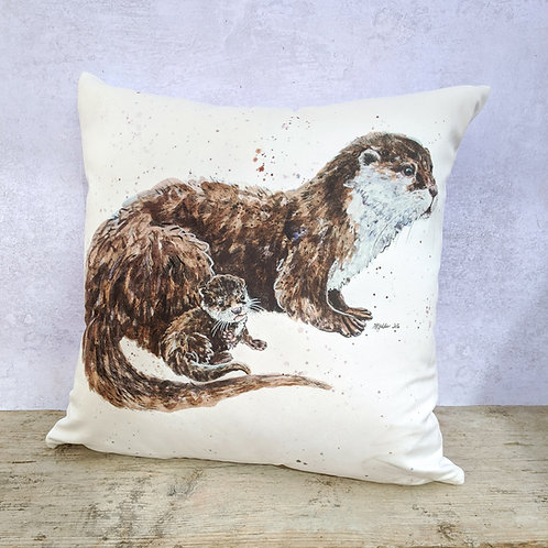 Topsy and Tim Otters Soft Cushion