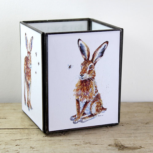 Hare Large Tealight Lantern