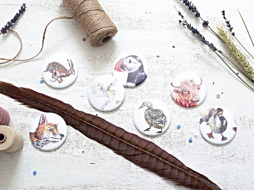 Animal Pocket Mirror