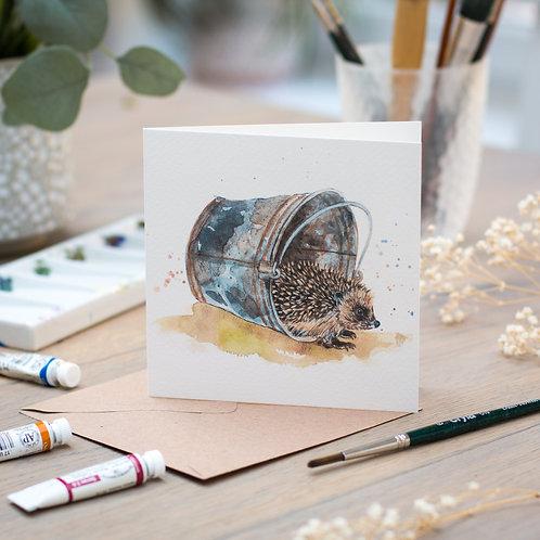 'Twinkle' Hedgehog Card