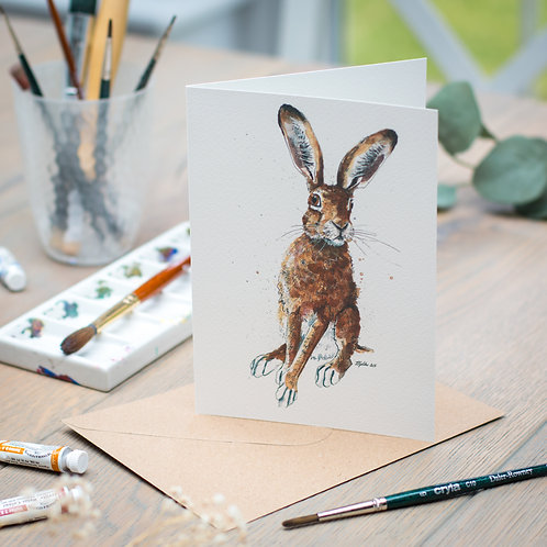 'Flossie' Hare Card