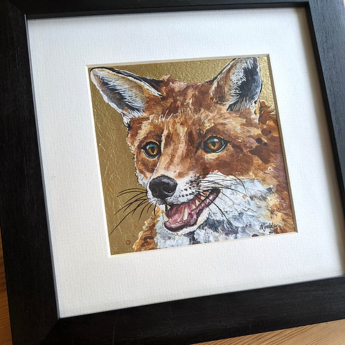 Mr Todd Original Fox Painting