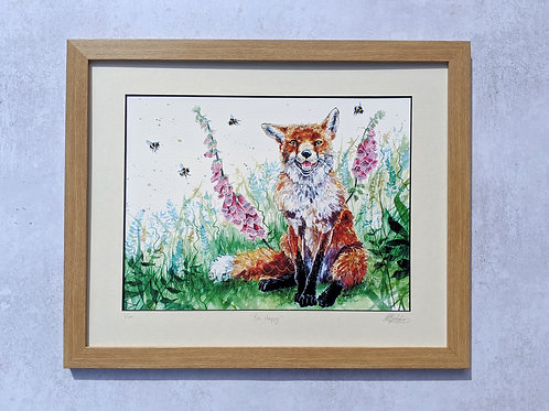 'Bee Happy' Limited Edition Print