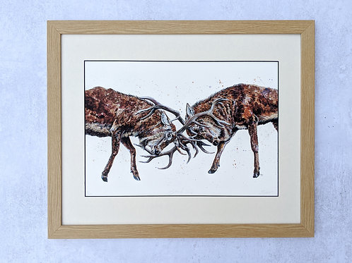 'Battle of Wills' Limited Edition Print