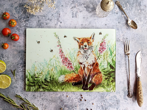 Bee Happy Fox Placemat