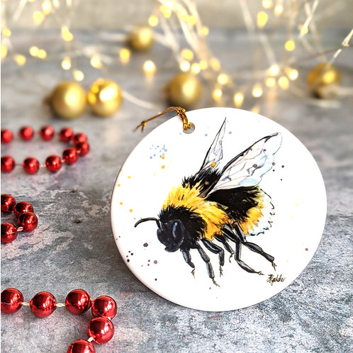 Bumble Bee Christmas Decoration