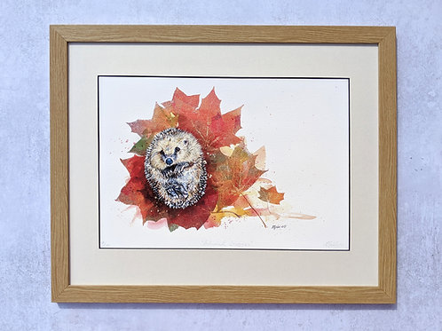 """Autumnal Snuggles"" Limited Edition Giclée Print"