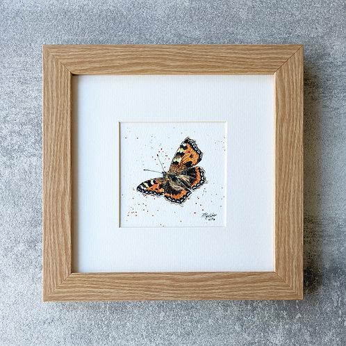 Mini Framed Original 'Madam Butterfly'