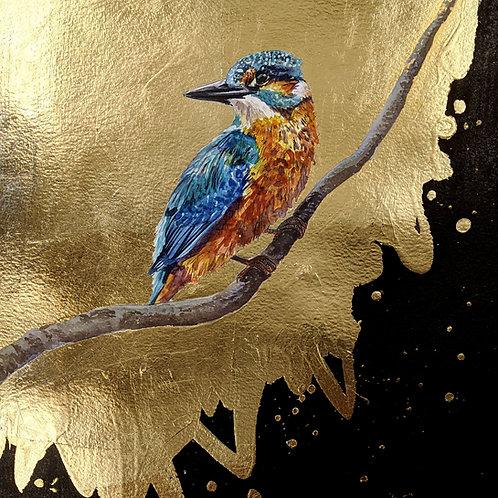 'Branching Out' Original Kingfisher Painting