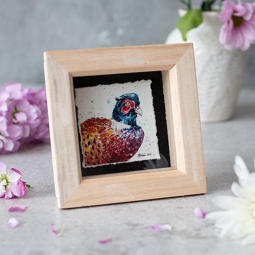 Pheasant Mini Box Frame