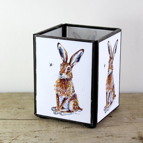 Hare Medium Tealight Lantern