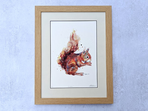 Nibbles Limited Edition Giclée Print