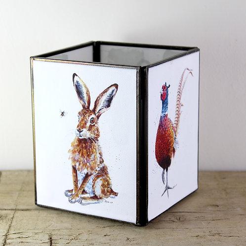 Mixed Animal Large Tealight Lantern