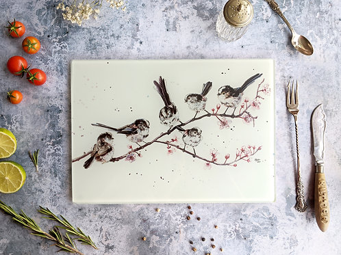 'Telling Long Tails' Placemat