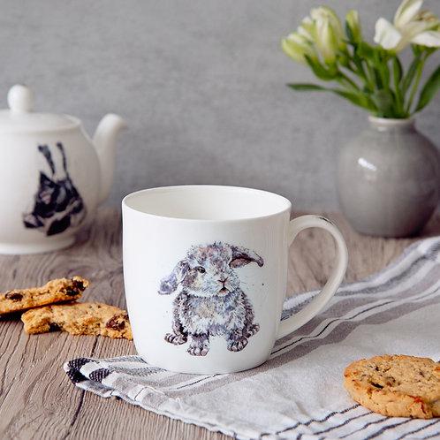 Rabbit China Mug