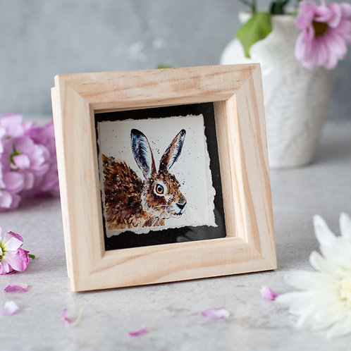 Tilly Hare Mini Box Frame