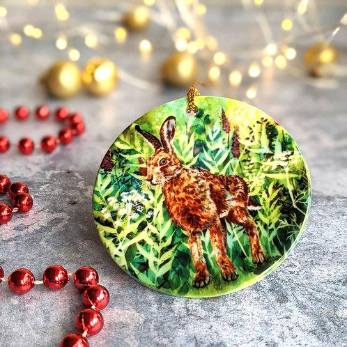 Briony Hare Christmas Decoration
