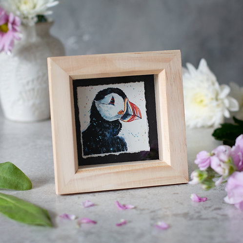 Puffin Mini Box Frame