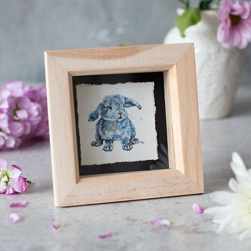 Boris the Bunny Mini Box Frame