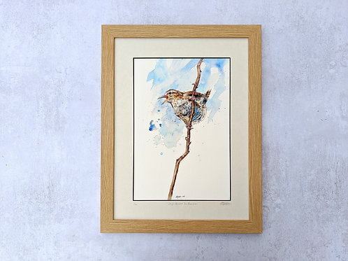 'Songs Amidst the Brambles' Giclée Print