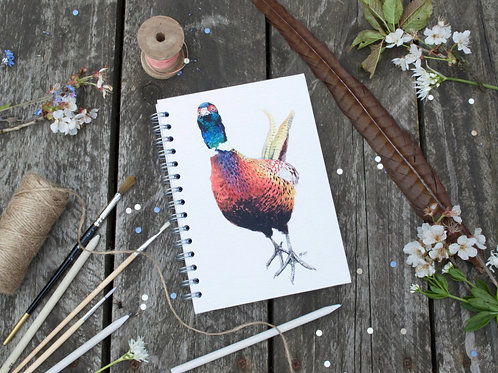 Pheasant Notebook