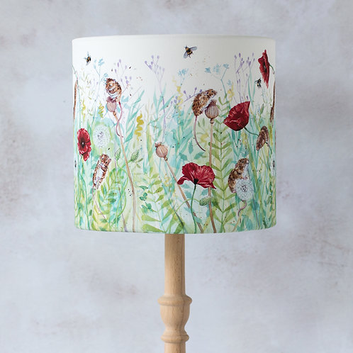 Mice and Flowers Lampshade