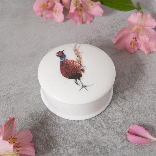Pheasant Trinket Dish