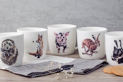 Mix & Match Set of 4 Mugs