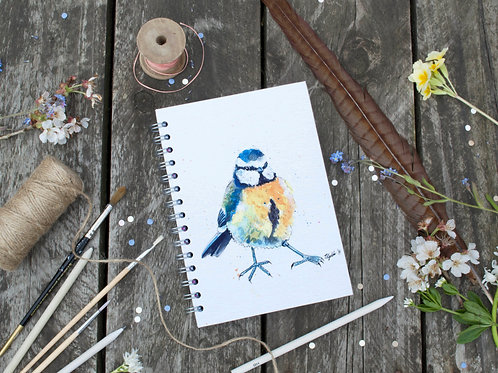 Garden Birds Notebook