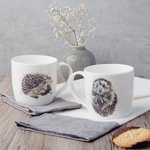 Hedgehog Bone China Mug