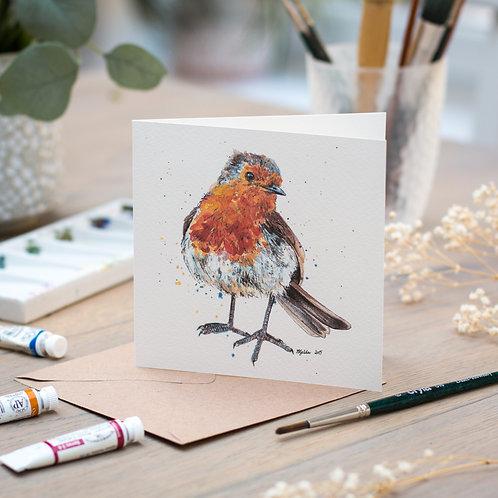 'Damien' Robin Card
